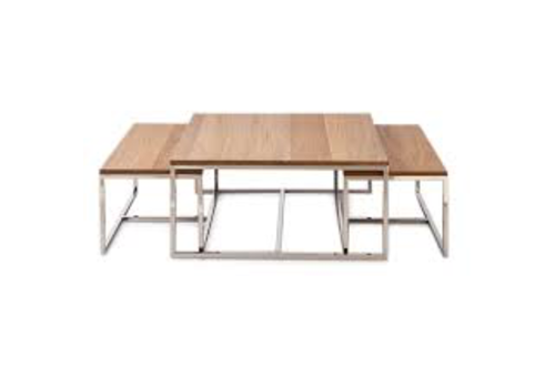 Homestore Monaco Coffee Table 90x90 S/3