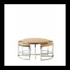 Homestore Monaco Round Coffee Table S/5