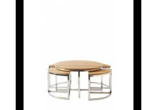 Homestore Monaco Round Coffee Table S/5