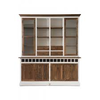 Homestore Driftwood Cabinet w winerack Double