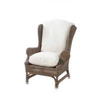 Outdoor Rustic Rattan Nic.W.Chair