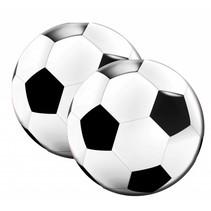 Voetbal Servetten Versiering 20 stuks
