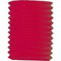 Rode Lampion 16cm