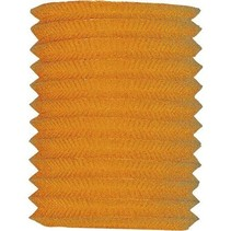 Oranje Lampion 16cm (I17-7-2)