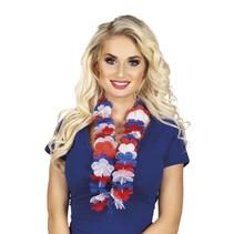 Hawaii Krans Rood Wit Blauw (B2-2-5)