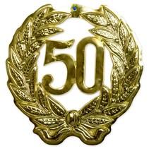 Deurbord 50 Goud 45cm