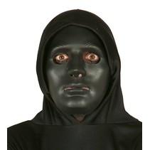 Zwart Masker Deluxe voorkant (K18-3-3)