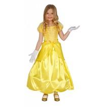 Prinsessenjurk Geel Kind (L10-1-1)