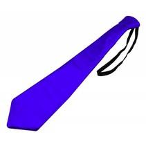 Glitter Stropdas Blauw Metallic (K5-7-5)