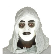 Halloween Masker Transparant Glow in the Dark Man voorkant
