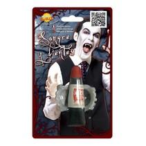 Vampier Tanden met nepbloed