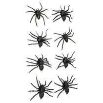 Nep Spinnen 6cm 8 stuks (NO3-6-4)