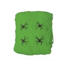 Groen Spinnenweb met Spinnen 60 gram (NO4-2-4)