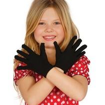 Zwarte Handschoenen Kind 2 stuks