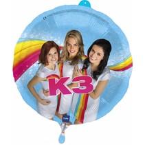 K3 Helium Ballon 43cm leeg