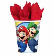 Super Mario Bekers 266ml 8 stuks
