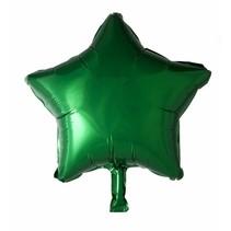 Helium Ballon Ster Groen 46cm leeg