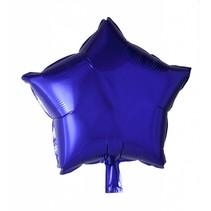 Helium Ballon Ster Paars 46cm leeg