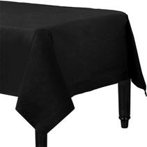Zwart Tafelkleed 274x137cm