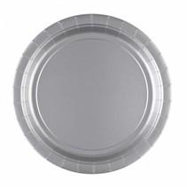 Zilveren Borden 23cm 8 stuks