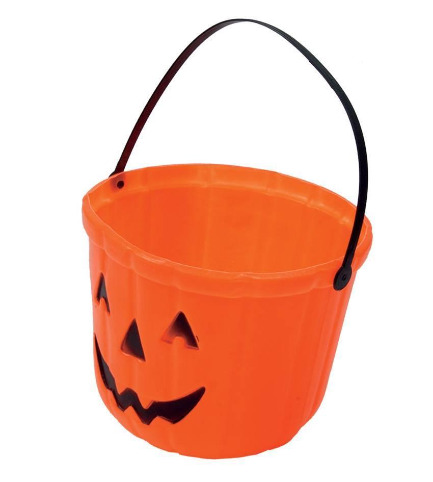 Halloween 2019 Pompoen.Halloween Pompoen Snoepbak 20cm