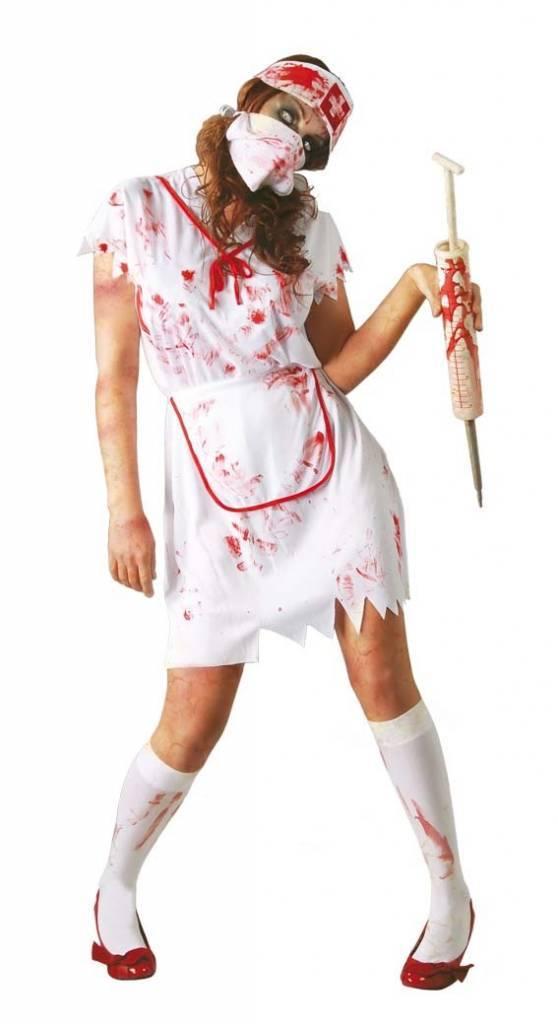 Halloween Kostuum.Halloween Kostuum Dames Verpleegster Partywinkel Nl