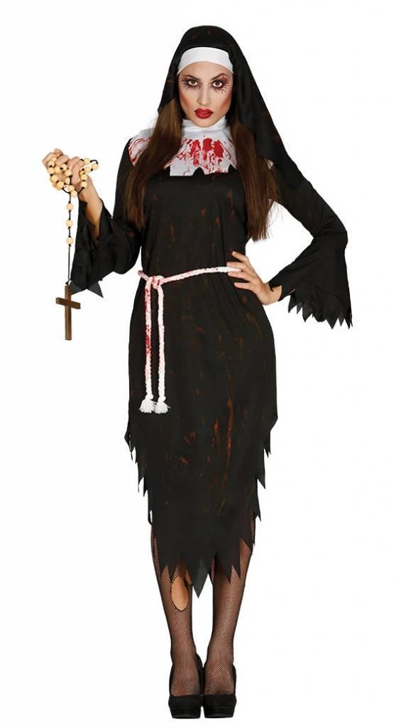 Halloween Kostuum Vrouw.Halloween Kostuum Dames Non