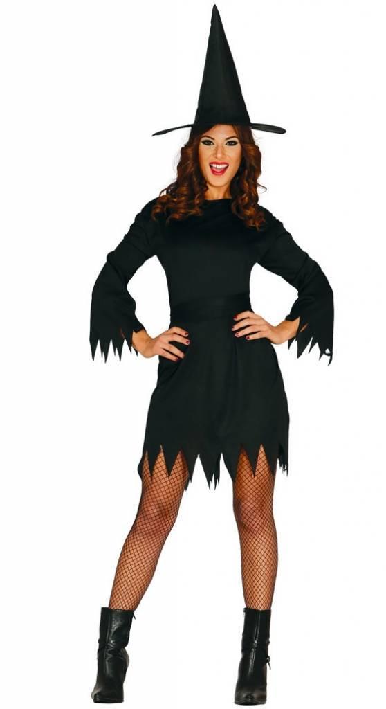Halloween Kleding Dames.Halloween Kostuum Dames Heks