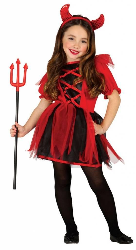Halloween Kostuum.Halloween Kostuum Kind Duivel Meisje Partywinkel Nl
