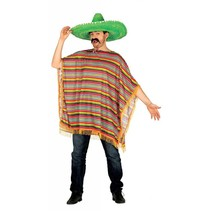 Mexicaanse Poncho (P4-1-4)