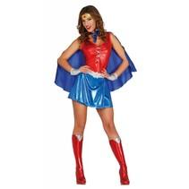 Superheld Kostuum Wonder Dames (M8-3-3)