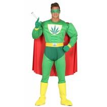 Superheld Kostuum Wiet (M7-1-3)