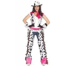 Cowgirl Kostuum Roze (N5-3-2)