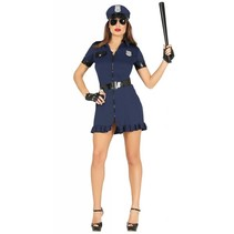 Politiepak Dames Blauw (N5-3-1)