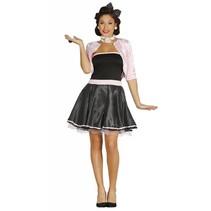 Grease Kostuum Roze 50's Dames (N1-3-1)