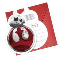Star Wars Uitnodigingen The Last Jedi 6 stuks