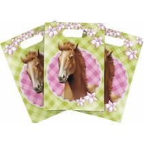 Paarden Uitdeelzakjes Party 6 stuks