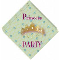 Prinsessen Servetten Party 20 stuks