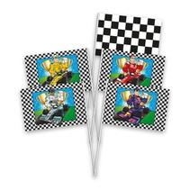 Formule 1 Handvlaggen 8 stuks