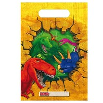Dinosaurus Uitdeelzakjes 6 stuks (G9-2-6)