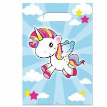 Unicorn Uitdeelzakjes 8 stuks