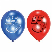 Cars Ballonnen 23cm 6 stuks