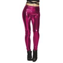 Roze Legging Metallic