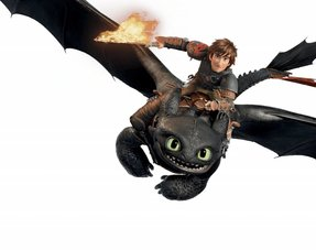 How To Train Your Dragon Versiering