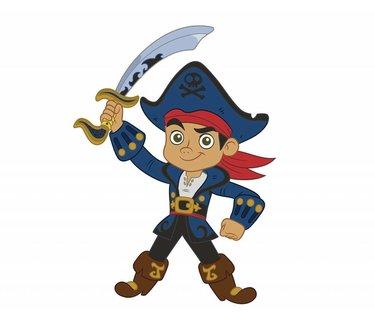 Jake en De Nooitgedachtland Piraten Versiering