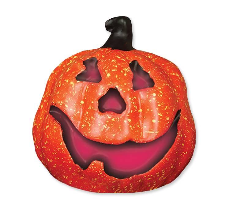Pompoen Halloween.Halloween Pompoen Deluxe Met Licht 15cm