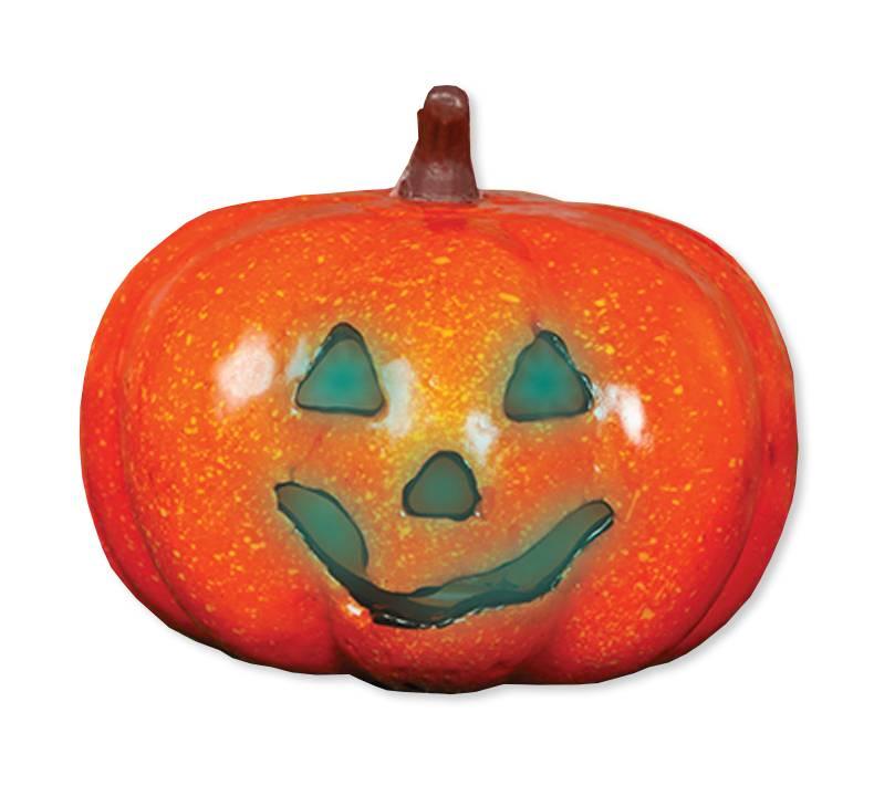 Pompoen Halloween.Halloween Pompoen Met Licht 16cm