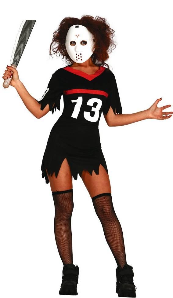 Halloween Kostuum Vrouw.Halloween Kostuum Dames Ijshockey