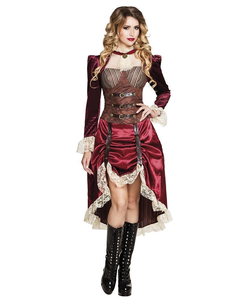 Kostuums Dames.Steampunk Kostuum Dames