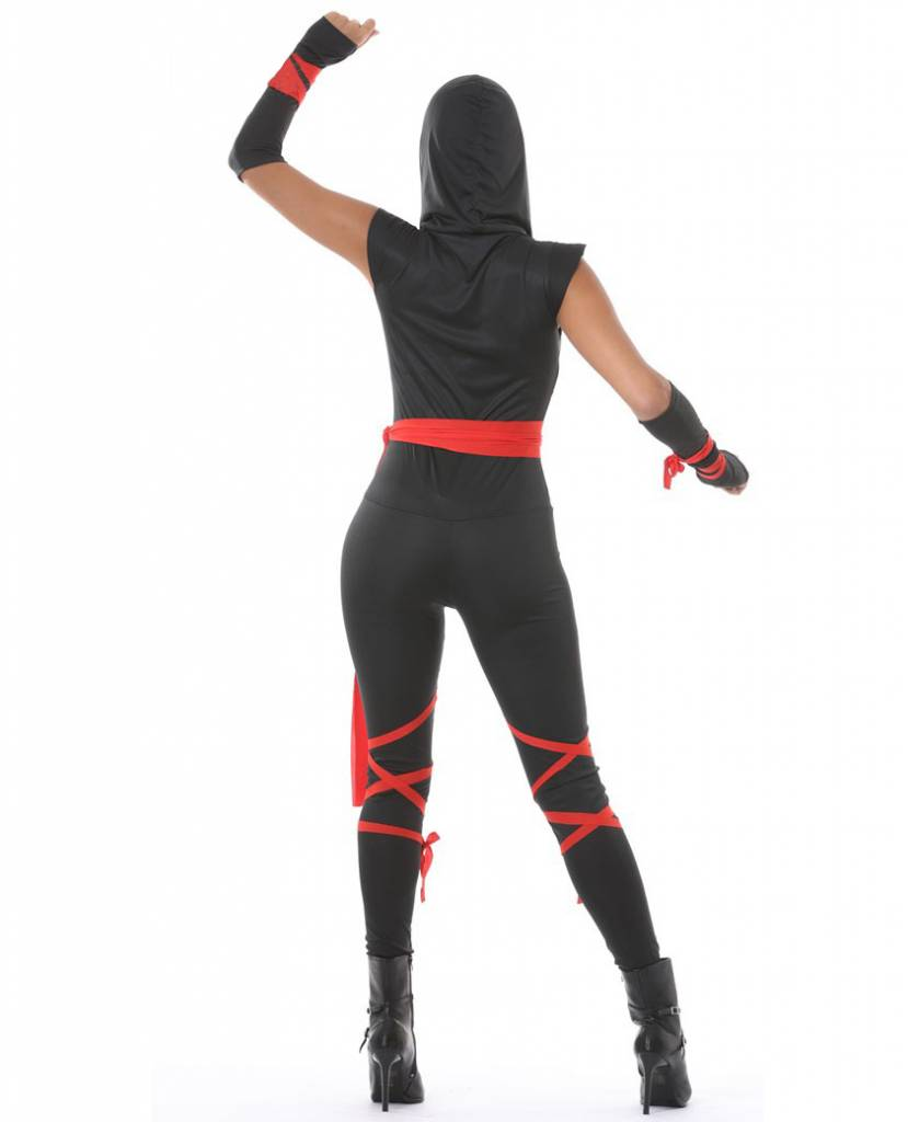 Carnavalskleding Ninja Dames.Ninja Kostuum Dames Partywinkel Nl
